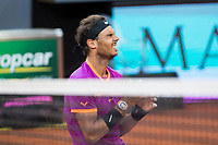 Rafa Nadal during the ATP final of Mutua Madrid Open Tennis 2017 at Caja Magica in Madrid, May 1, 2017. Spain. /NortePhoto.com
