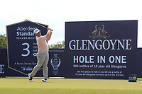 George Coetzee (RSA) on the 3rd during Round 4 of the Aberdeen Standard Investments Scottish Open 2019 at The Renaissance Club, North Berwick, Scotland on Sunday 14th July 2019.<br /> Picture:  Thos Caffrey / Golffile<br /> <br /> All photos usage must carry mandatory copyright credit (© Golffile | Thos Caffrey)