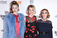 Hermione Corfield, Alice Eve and Josephine De La Baume<br /> arriving for the World premiere of &quot;Bees Make Honey&quot; at the Vue West End, Leicester Square, London<br /> <br /> <br /> &copy;Ash Knotek  D3314  23/09/2017