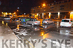 The flooding on Mary St and Ivy Terrace on Sunday night.