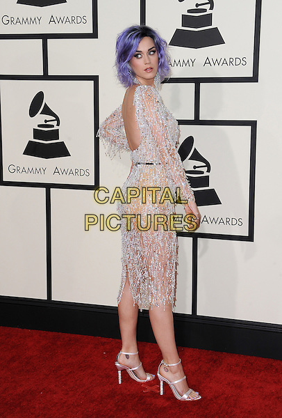 LOS ANGELES, CA - FEBRUARY 8: Katy Perry arrives at the 57th Annual Grammy Awards at Staples Center on February 8, 2015 in Los Angeles, California. <br /> CAP/MPI/SKPG<br /> &copy;SKPG/MPI/Capital Pictures