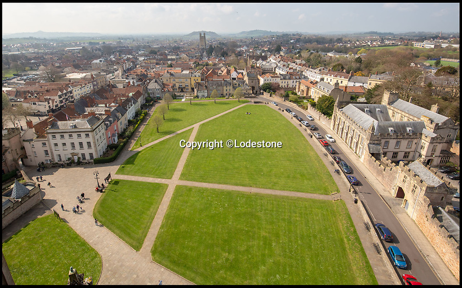 BNPS.co.uk (01202 558833)<br /> Pic: Lodestone/BNPS<br /> <br /> View from the Cathedral...<br /> <br /> Divine Location...First time on the market in 800 years - The historic Deanery of Wells Cathedral in Somerset.<br /> <br /> A historic 800 year old property offering unrivalled views of Britain's 'most beautiful and poetic' cathedral has emerged for sale for the first time.<br /> <br /> The majestic Old Deanery, overlooking Wells Cathedral, was the primary residence of 62 Deans from 1230 until 1958.<br /> <br /> For the past six decades, it has been used as the diocesan offices for the Diocese of Bath and Wells accommodating over 50 staff, who are now relocating to a new building in the outskirts of Wells, Somerset.<br /> <br /> The Grade I listed building whose earliest fabric dates back to the 12th century is on the market with estate agents Lodestone for £2.5million.