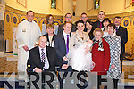 Ann and Keith McCarthy parents of baby Eva McCarthy at her Christening with family and friends in St Michael's Church, Lixnaw on Saturday.