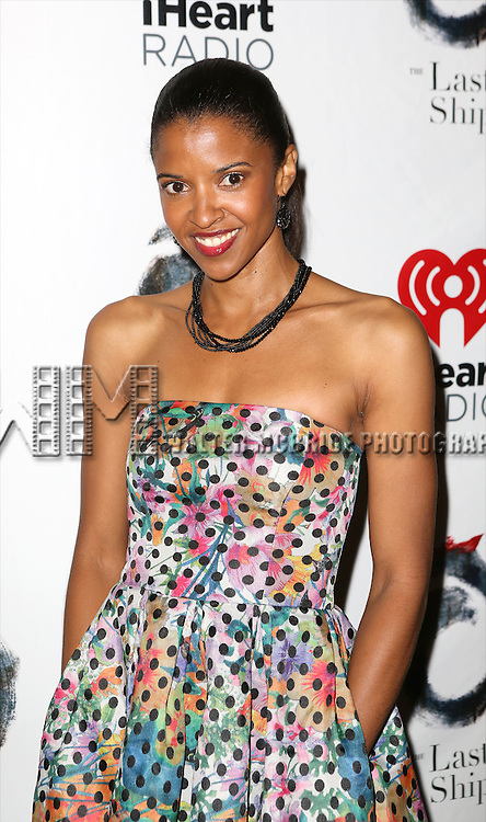 Renée Elise Goldsberry attends the Broadway Opening Night performance of 'The Last Ship' at the Neil Simon Theatre on October 26, 2014 in New York City.