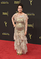 LOS ANGELES - SEPTEMBER 15: Beth Morgan attends the 2019 Creative Arts Emmy Awards at the Microsoft Theatre LA Live on September 15, 2019 in Los Angeles, California. (Photo by Scott Kirkland/PictureGroup)
