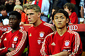 Takashi Usami (Bayern),..JULY 26, 2011 - Football / Soccer :..Takashi Usami (R) of Bayern Munchen stands in front of the bench before the Audi Cup 2011 match between FC Bayern Muenchen 1(5-3)1 AC Milan at Allianz Arena in Munich, Germany. (Photo by AFLO)