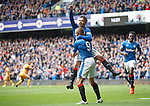 Harry Forrester celebrates his goal