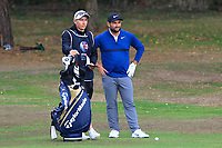 Alexander Levy (FRA) on the 1st fairway during Round 3 of the Sky Sports British Masters at Walton Heath Golf Club in Tadworth, Surrey, England on Saturday 13th Oct 2018.<br /> Picture:  Thos Caffrey | Golffile