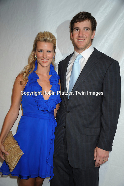 Abbey and Eli Manning