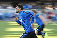 San Jose, CA - Saturday August 05, 2017: Chris Wondolowski prior to a Major League Soccer (MLS) match between the San Jose Earthquakes and the Columbus Crew at Avaya Stadium.