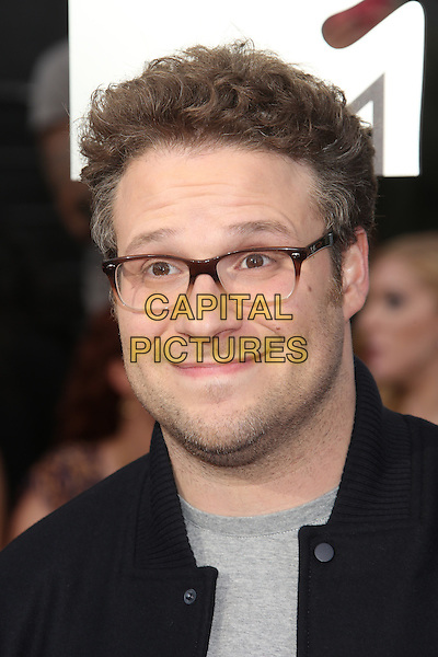 LOS ANGELES, CA - APRIL 13: Seth Rogen at the 2014 MTV Movie Awards at Nokia Theatre L.A. Live on April 13, 2014 in Los Angeles, California. <br /> CAP/MPI/JO<br /> &copy;Janice Ogata/MPI/Capital Pictures