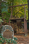 Sierra County Sheriff's Gallows in Downieville, California