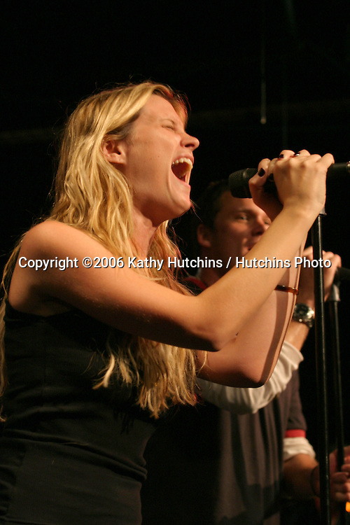 Bonnie Sommerville.Band From TV Rehearsals (Includes James Denton, Bob Guiney, Hugh Laurie, Bonnie Sommerville, and Greg Grunberg, along with the support of other musicians).Centerstaging Studios.Burbank, CA.August 26, 2006.©2006 Kathy Hutchins / Hutchins Photo....