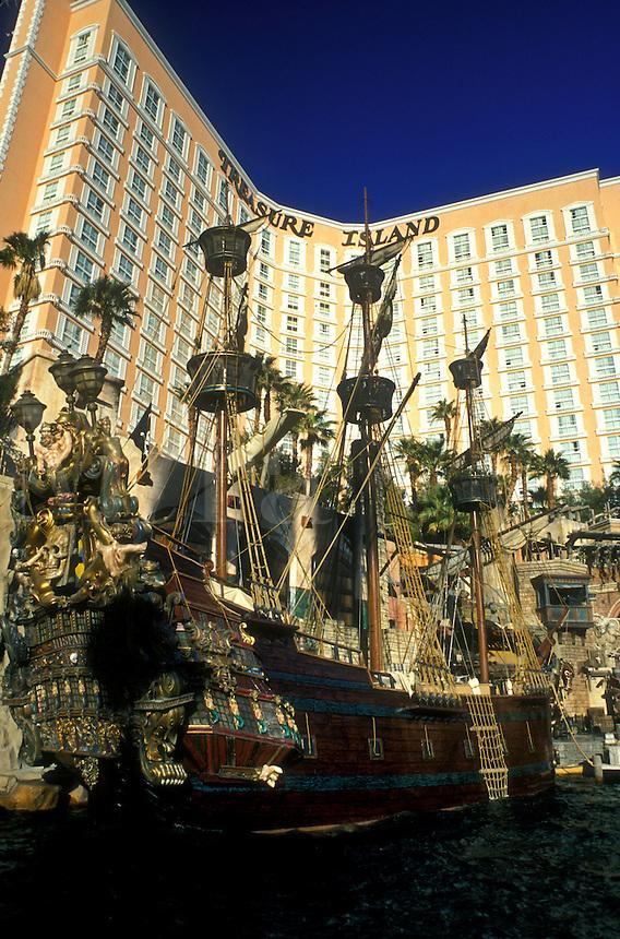 Las Vegas, casino, Treasure Island, Nevada, NV, The Strip, Treasure Island Hotel & Casino on The Strip in Las Vegas, the Entertainment Capital of the World.