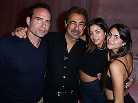 HOLLYWOOD, LOS ANGELES, CA, USA - AUGUST 18: Jason Patric, Joe Mantegna, Gia Mantegna at the Los Angeles Premiere Of Lionsgate Films' 'The Prince' After Party held at Supperclub on August 18, 2014 in Hollywood, Los Angeles, California, United States. (Photo by Xavier Collin/Celebrity Monitor)