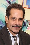 Tony Shalhoub attends the press reception for the Opening Night of the Lincoln Center Theater Production of 'The Babylon Line'  at the Mitzi E. Newhouse Theatre on December 5, 2016 in New York City.