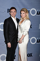 "LOS ANGELES - FEB 8:  Daryl Sabara, Meghan Trainor at the ""The Four"" Season 1 Finale Viewing Party at Delilah on February 8, 2018 in West Hollywood, CA"