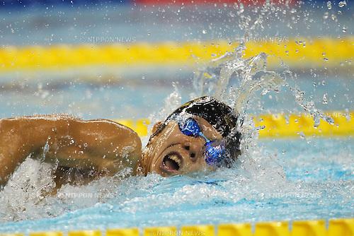 Sho Sotodate (JPN), ..APRIL 9, 2011 - Swimming : ..2011 International Swimming Competitions Selection Trial, Men's 200m Freestyle Heat ..at ToBiO Furuhashi Hironoshin Memorial Hamamatsu City Swimming Pool, Shizuoka, Japan. ..(Photo by Daiju Kitamura/AFLO SPORT) [1045]
