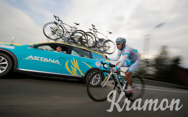 3 Days of De Panne.stage 1: Middelkerke - Zottegem..Assan Bazayev (KAZ)