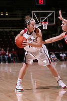 10 January 2008: JJ Hones during Stanford's 81-45 win over Oregon State at Maples Pavilion in Stanford, CA.