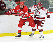 Kirill Gotovets (Cornell - 24), Colin Moore (Harvard - 12) - The visiting Cornell University Big Red defeated the Harvard University Crimson 2-1 on Saturday, January 29, 2011, at Bright Hockey Center in Cambridge, Massachusetts.