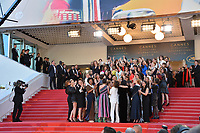 Cate Blanchett, Ava DuVernay, Khadja Nin, Thierry Fremaux, Francoise Nyssen, Kristen Stewart, Lea Seydoux &amp; Women Filmmakers at the gala screening for &quot;Girls of the Sun&quot; at the 71st Festival de Cannes, Cannes, France 12 May 2018<br /> Picture: Paul Smith/Featureflash/SilverHub 0208 004 5359 sales@silverhubmedia.com