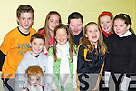 Enjoying the Dr Crokes Christmas party in the clubhouse on Sunday was front l-r: Leah Bartlett, Mark Cooper, Laura O'Sullivan, Chloe Bartlett. Back row: Diarmuid Doherty, Rebecca O'Shea, Stephen Brosnan and Christine Cooper   Copyright Kerry's Eye 2008