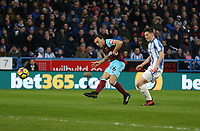 West Ham United's Mark Noble scores his side's first goal  <br /> <br /> Photographer Rob Newell/CameraSport<br /> <br /> The Premier League - Huddersfield Town v West Ham United - Saturday 13th January 2018 - John Smith's Stadium - Huddersfield<br /> <br /> World Copyright &copy; 2018 CameraSport. All rights reserved. 43 Linden Ave. Countesthorpe. Leicester. England. LE8 5PG - Tel: +44 (0) 116 277 4147 - admin@camerasport.com - www.camerasport.com