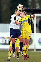 Ellie Noble of Oxford United Ladies during Tottenham Hotspur Ladies vs Oxford United Women, FA Women's Super League FA WSL2 Football at Theobalds Lane on 11th February 2018
