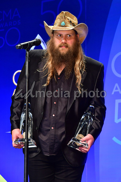 02 November 2016 - Nashville, Tennessee - Chris Stapleton. 50th Annual CMA Awards, CMA Awards 2016, Country Music's Biggest Night, held at Bridgestone Arena. Photo Credit: Mickey Bernal/AdMedia