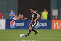 DC United defender Juan Manuel Pena (3).  DC United defeated Chivas USA 3-2 at RFK Stadium, Saturday  May 29, 2010.