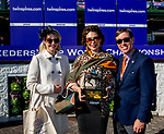 November 3, 2018 : Connections for Roy H #9, ridden by Paco Lopez, winner of the Twinspires Breeders' Cup Sprint, celebrate in the winner's circle on Breeders Cup World Championships Saturday at Churchill Downs on November 3, 2018 in Louisville, Kentucky. Bill Denver/Eclipse Sportswire/CSM