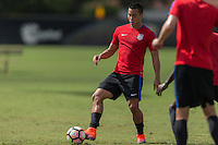 Miami, FL - October 3, 2016: The U.S. Men's National team trains in preparation for their friendly game against Cuba at Barry University.