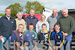 COURSING: The Leen clan who with partners attended the lasdt day of the Kilflynn Coursing in Kilflynn on Monday. Front l-r: JoeDineen, Denis,Christopher and John Leen. Back l-r: Timmy Dowd, Berthy Foran, John Harrington, Bridget Leen, Michael Leen and Larry Dowling...................