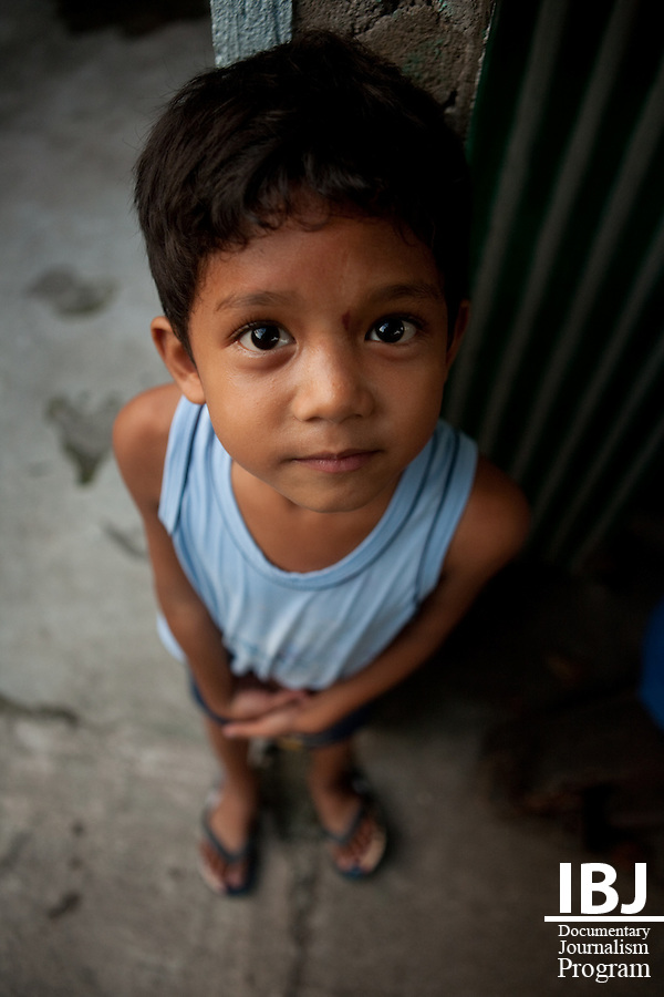 Filipino child, 2009.