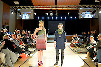 Hix, New Zealand Eco Fashion Exposed Maintain &amp; Sustain at Notre Dame Performing Arts Centre, Lower Hutt, New Zealand on Friday 25 July 2014. <br /> Photo by Masanori Udagawa. <br /> www.photowellington.photoshelter.com.
