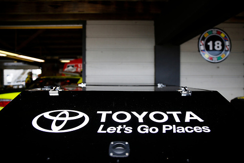 #19: Brandon Jones, Joe Gibbs Racing, Toyota Camry Menards Atlas tool box