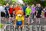 Parkey the Teddy starts off the Run in the park at Tralee Town Park on Saturday