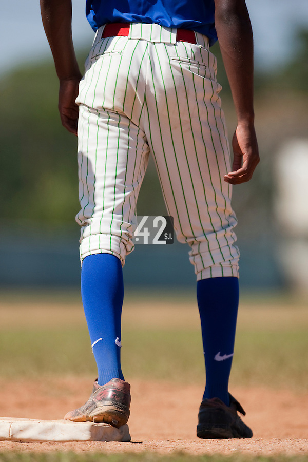 BASEBALL - POLES BASEBALL FRANCE - TRAINING CAMP CUBA - HAVANA (CUBA) - 13 TO 23/02/2009 - CUBAN PLAYER FIRST BASE