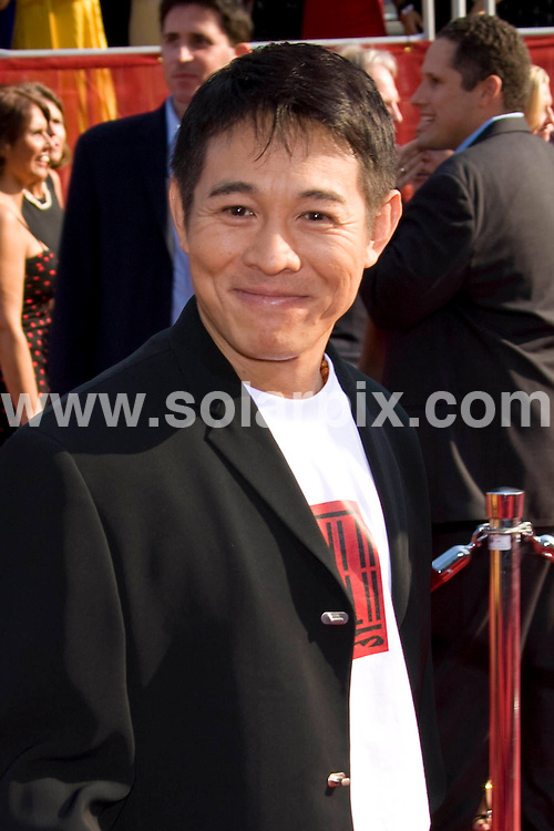 **ALL ROUND PICTURES FROM SOLARPIX.COM**.**SYNDICATION RIGHTS FOR UK, SPAIN, PORTUGAL, AUSTRALIA, S.AFRICA & DUBAI (U.A.E) ONLY**.David Beckham and Victoria Beckham attends the 16th Annual ESPY at the Nokia Theatre in Los Angeles, California in the USA. .This pic:Jet Li..JOB REF:6850- PHZ/Chris Hatcher    DATE:16_07_08 .**MUST CREDIT SOLARPIX.COM OR DOUBLE FEE WILL BE CHARGED* *UNDER NO CIRCUMSTANCES IS THIS IMAGE TO BE REPRODUCED FOR ANY ONLINE EDITION WITHOUT PRIOR PERMISSION*