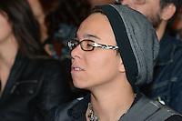 RIO DE JANEIRO, RJ, 23 JULHO 2012 - PREMIO CONTIGO DE MPB - Maria Gadu na cerimonia de entrega do primeiro Premio Contigo de Musica Popular Brasileira, no espaco Miranda, zona sul do rio.(FOTO: MARCELO FONSECA / BRAZIL PHOTO PRESS).