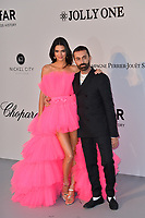 ANTIBES, FRANCE. May 23, 2019: Kendall Jenner & Giambatista Valli at amfAR's Gala Cannes event at the Hotel du Cap d'Antibes.<br /> Picture: Paul Smith / Featureflash