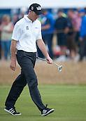 20.07.2014. Hoylake, England. The Open Golf Championship, Final Round.  Jim FURYK [USA] walks forward to his tee shot