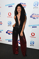 Vik Hope<br /> in the press room for the Capital Summertime Ball 2018 at Wembley Arena, London<br /> <br /> ©Ash Knotek  D3407  09/06/2018