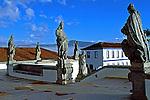 Esculturas dos Profetas de Aleijadinho em Congonhas do Campo. Minas Gerais. 1998. Foto de Ricardo Azoury.