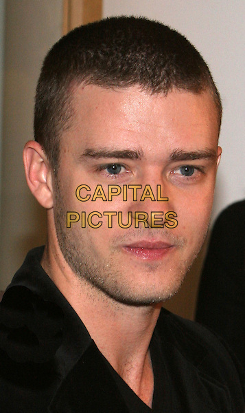 JUSTIN TIMBERLAKE.Introduces William Rast clothing line at Bloomingdale's, New York, NY..November 1st, 2005.Photo: Jackson Lee/Admedia/Capital Pictures.Ref: JL/ADM.headshot portrait stubble facial hair.www.capitalpictures.com.sales@capitalpictures.com.© Capital Pictures.