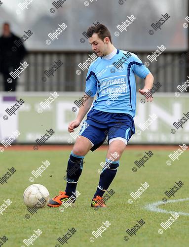2012-02-26 / Voetbal / seizoen 2011-2012 / KFC Duffel / Ken Vets..Foto: Mpics.be
