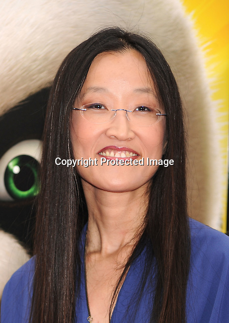 "HOLLYWOOD, {CA} -MAY 22: Jennifer Yuh Nelson arrives at the Los Angeles premiere of ""Kung Fu Panda 2"" held at Grauman's Chinese Theatre on May 22, 2011 in Hollywood, California."