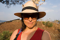Annuska in a walk in Cuatepetitla with Annuska, Felix and Lucas in San Jose los Laureles, Tlayacapan, Mexico