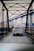Courtesy photo<br /> A drive along the old Arkansas 12 bridge under the new bridge.